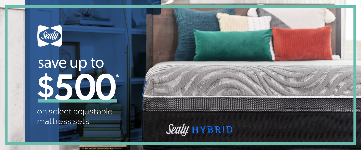 Save up to $500 on select adjustable mattress sets